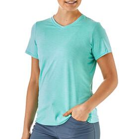 Patagonia Capilene Daily - Camiseta manga corta Mujer - Turquesa